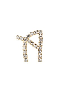 Rosantica A Lettere Crystal Initial Earring
