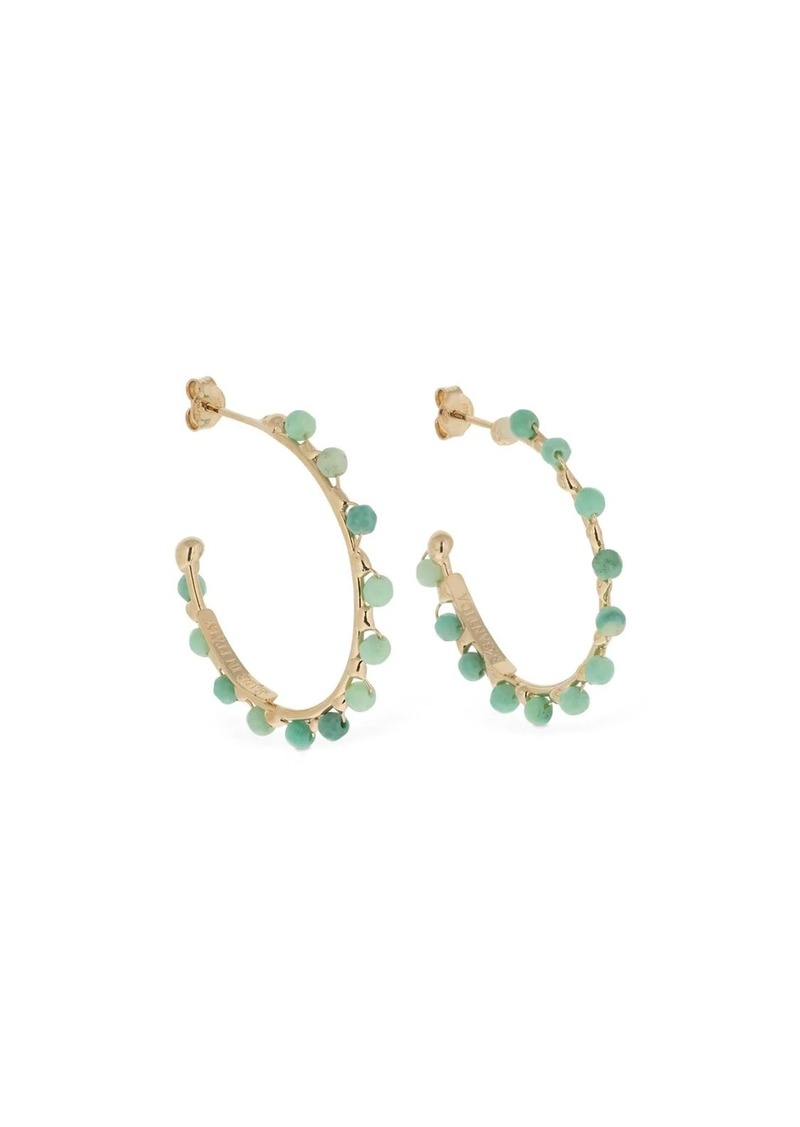 Rosantica Angola Beaded Hoop Earrings