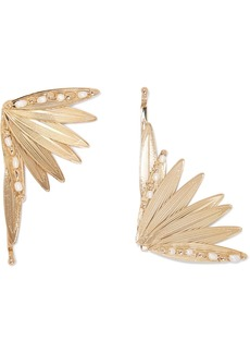 Rosantica Apache Set Of Two Gold-tone And Pearl Hair Slides