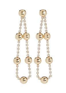 Rosantica Barcelo Crystal Drop Earrings