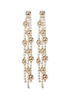 Rosantica Barcelo Crystal Fringe Earrings