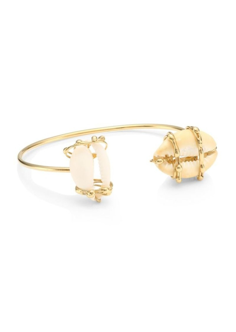 Rosantica Beatrix Shell Bangle Bracelet