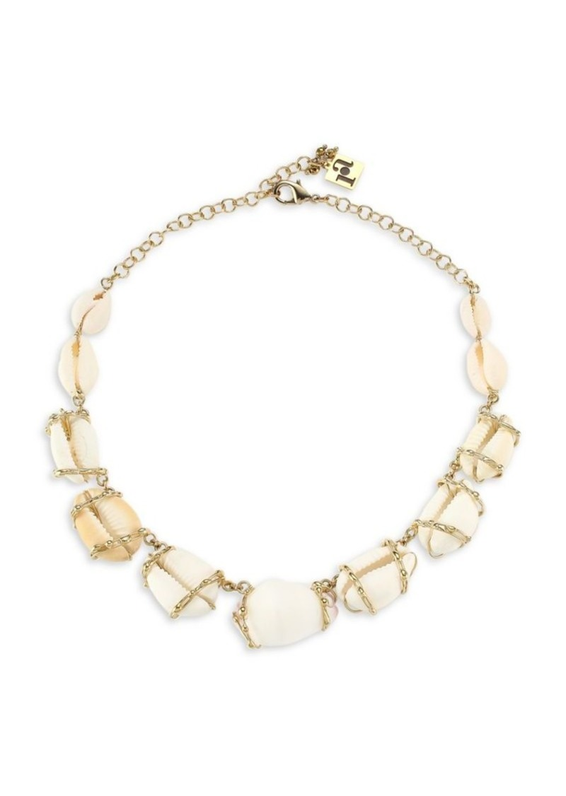 Beatrix Shell Collar Necklace