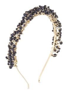 Rosantica Bouquet Brass & Quartz Beaded Headband