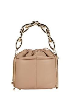 Rosantica Brick Leather Bucket Bag