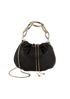Rosantica Bubble Leather Pouch Bag