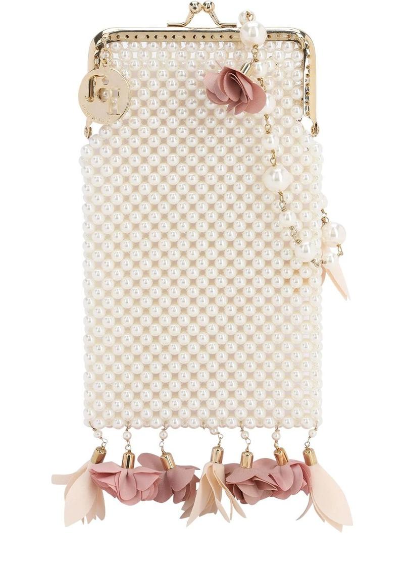 Rosantica Calendula Imitation Pearl Phone Bag