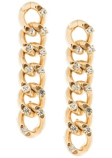 Rosantica chain drop earrings