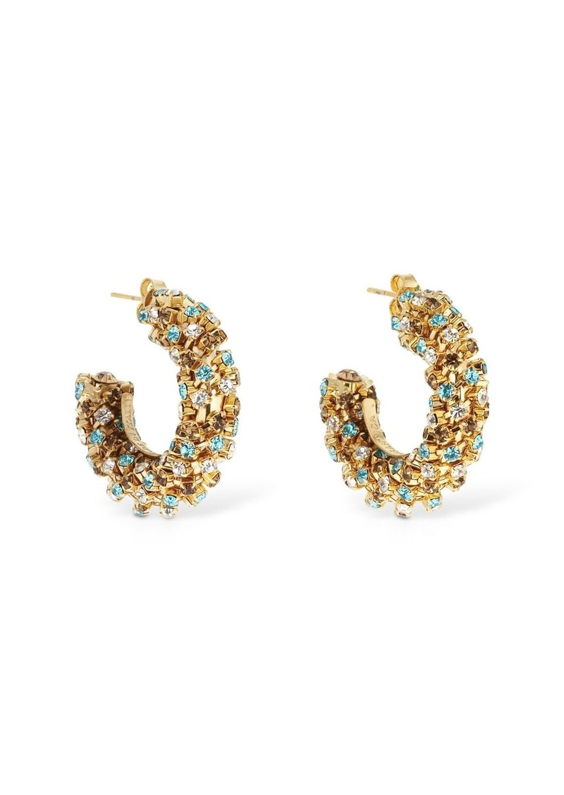Rosantica Chaos Multicolor Mini Hoop Earrings