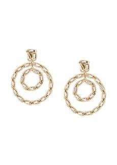 Rosantica circle chain drop earrings