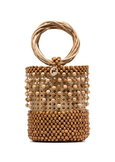 Rosantica Cora beaded bucket bag