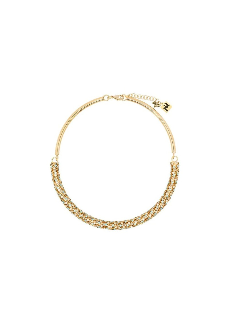 Rosantica crystal-embellished necklace