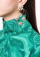Rosantica Daisy faux-pearl earrings