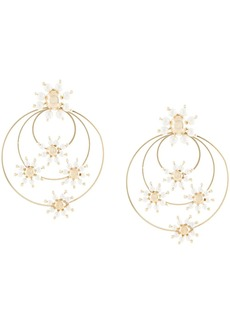 Rosantica Daisy faux-pearl earrings