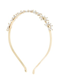 Rosantica Daisy Flowers Brass Headband