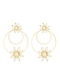Rosantica Daisy Pearl Hoop Earrings