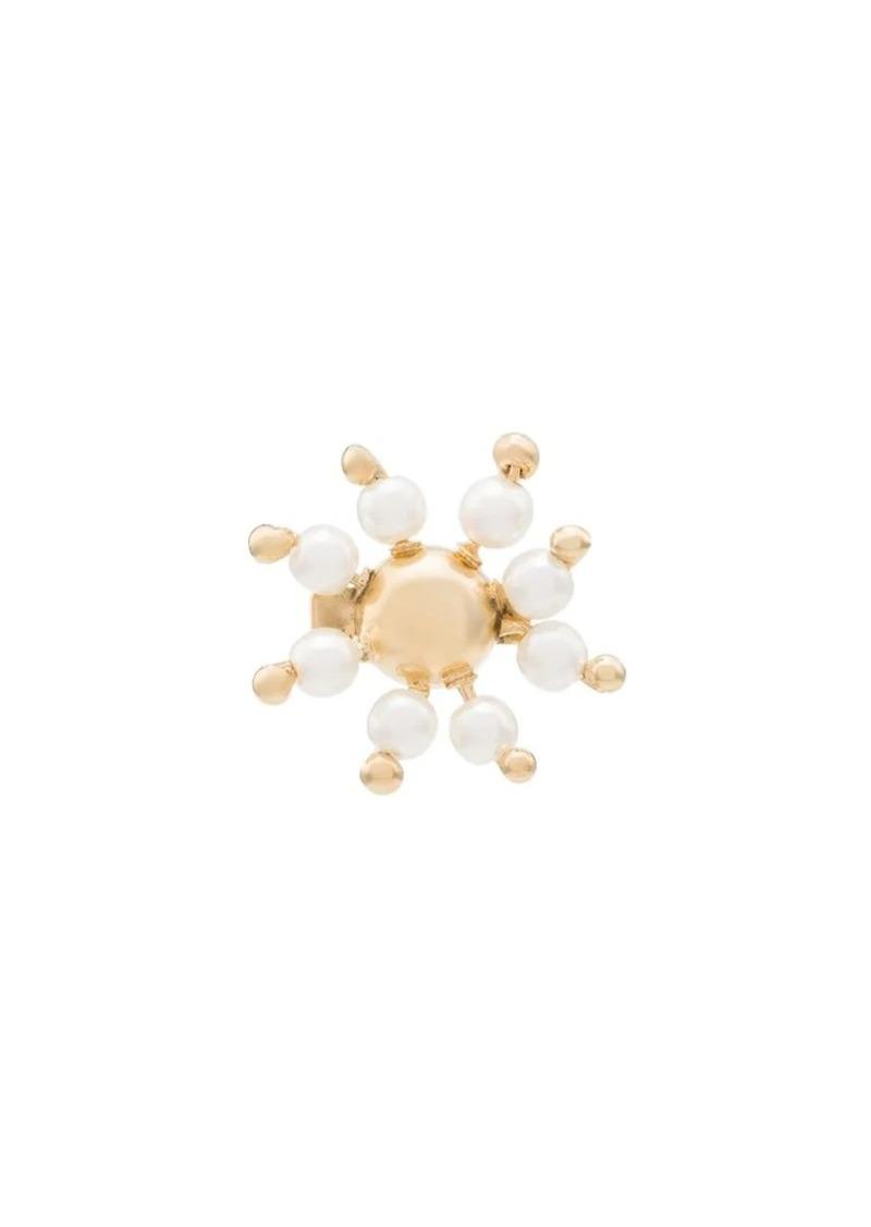 Rosantica daisy stud pearl earrings