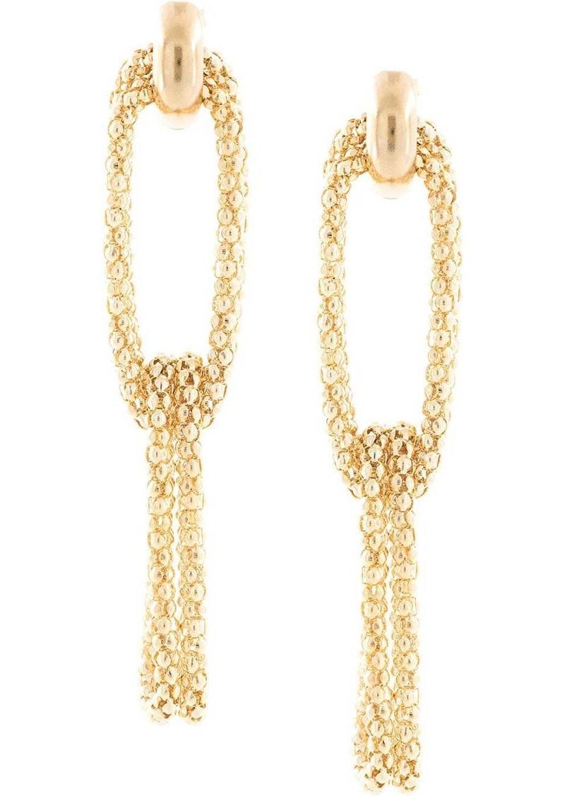 Rosantica drape style earrings
