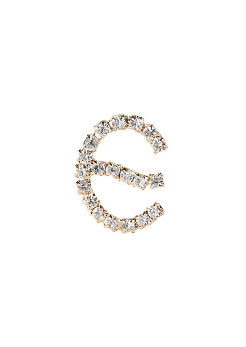 Rosantica E Lettere Crystal Initial Earring