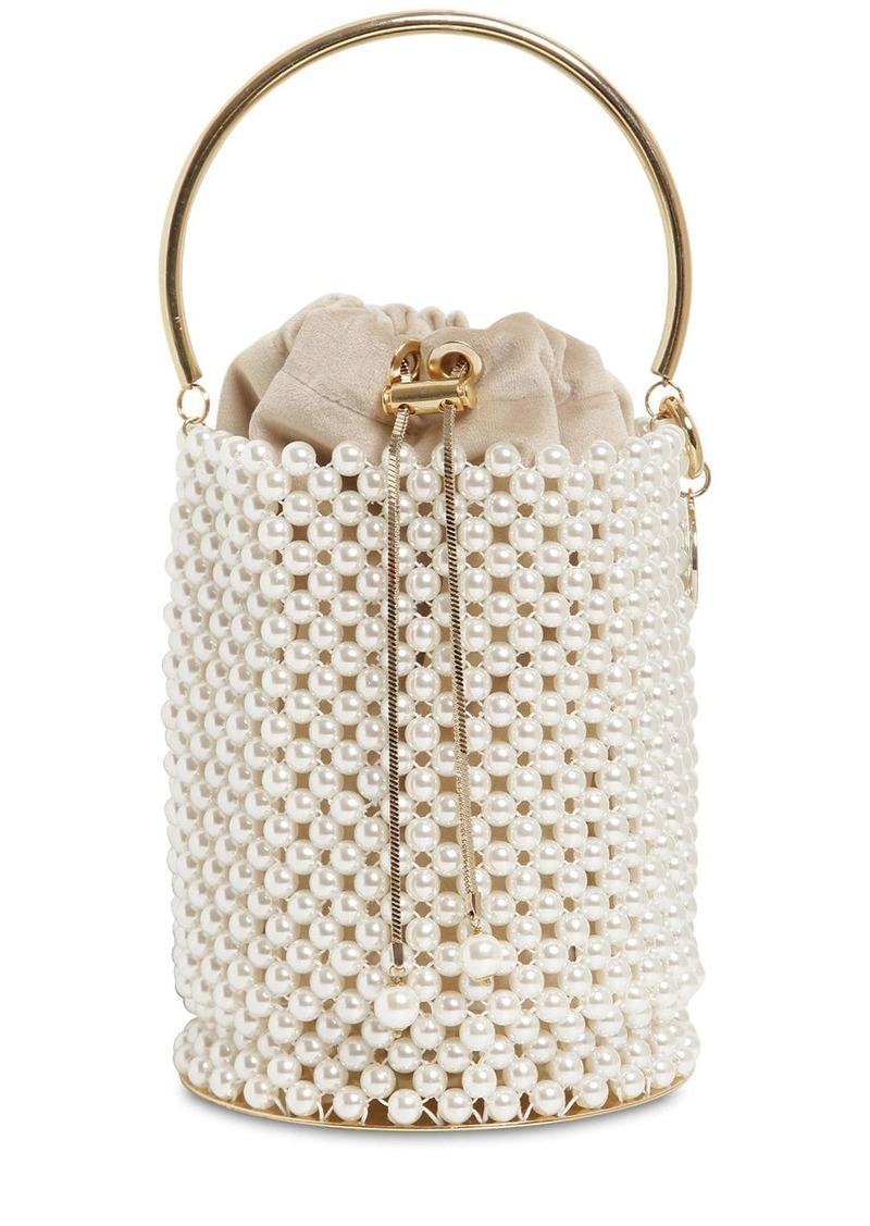 Rosantica Febe Embellished Bucket Bag