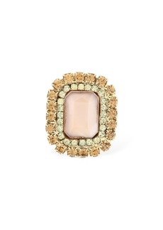 Rosantica Fiction Crystal Statement Ring