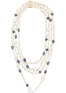 Rosantica floral layered necklace