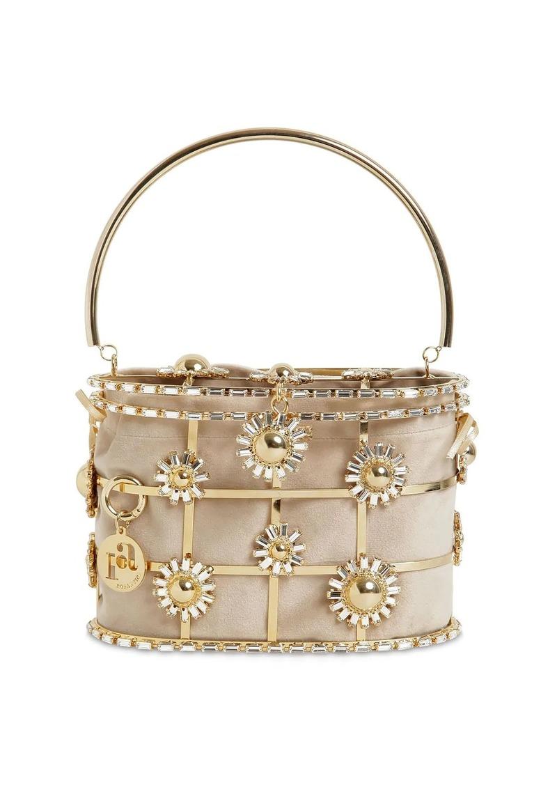Rosantica Holli Flower Bomb Top Handle Bag