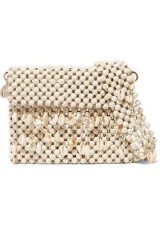 Rosantica Idra Shell-embellished Beaded Shoulder Bag