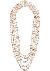 Rosantica long beaded loop necklace