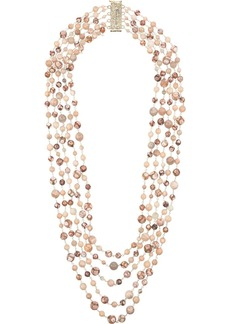 Rosantica long beaded loop necklace