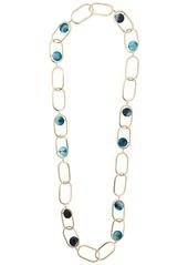 Rosantica loop chain necklace