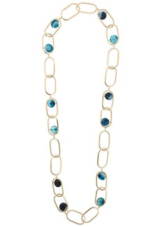 Rosantica loop chain necklace