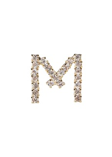 Rosantica M Lettere Crystal Initial Earring