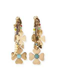 Rosantica Malocchio Mixed Charm Dangle Earrings