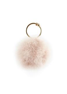 Rosantica Milady Feather Clutch Bag