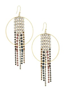 Rosantica Multicolor Crystal Sublime Chandelier Earrings