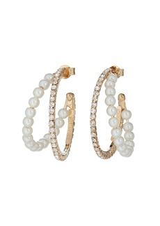 Rosantica Nascondino Double Hoop Earrings