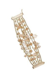 Rosantica neutral Grillo multi strand bracelet