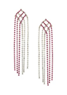 Rosantica Oasis Crystal Fringe Earrings
