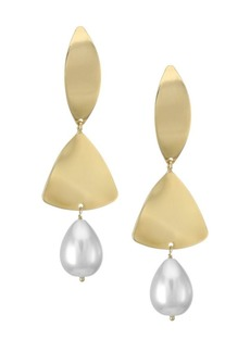 Rosantica Ombre Faux Pearl Earrings
