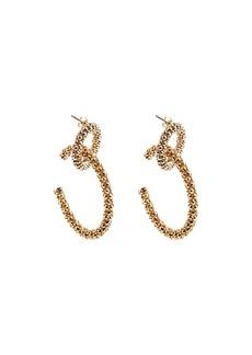 Rosantica Onore Chain-Link Hoop Earrings