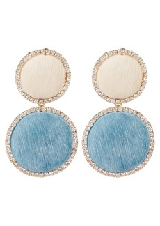 Rosantica Origine Pastel Crystal Circle Earrings