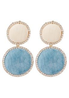 Rosantica Origine Pastel Crystal Circle Earrings