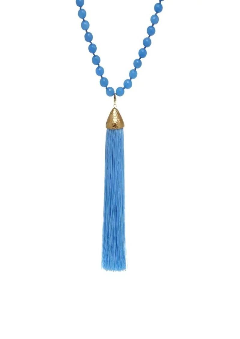 Rosantica Platea Tassel Necklace