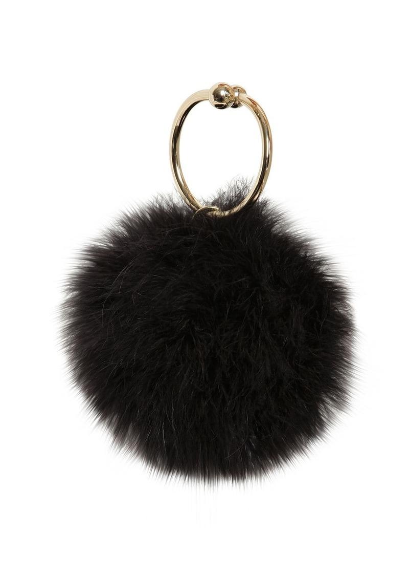 Rosantica Robespierre Marabou Feather Bag
