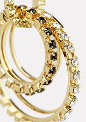 Rosantica Rock Circle Crystal Earrings