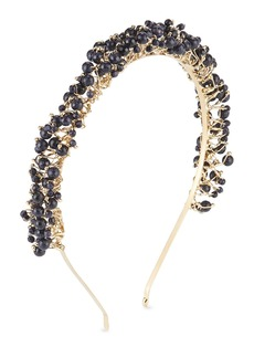 Rosantica Bouquet Brass & Quartz Beaded Headband