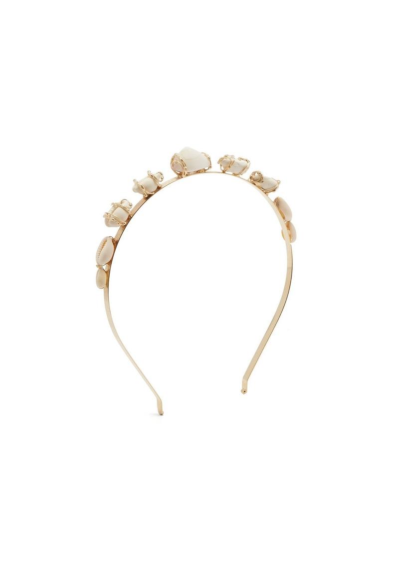 Rosantica By Michela Panero Beatrix shell headband