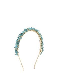 Rosantica By Michela Panero Bouquet bead-embellished headband