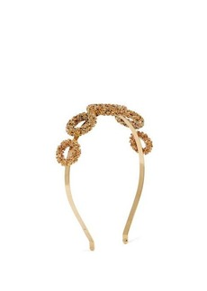 Rosantica By Michela Panero Caos crystal-embellished headband